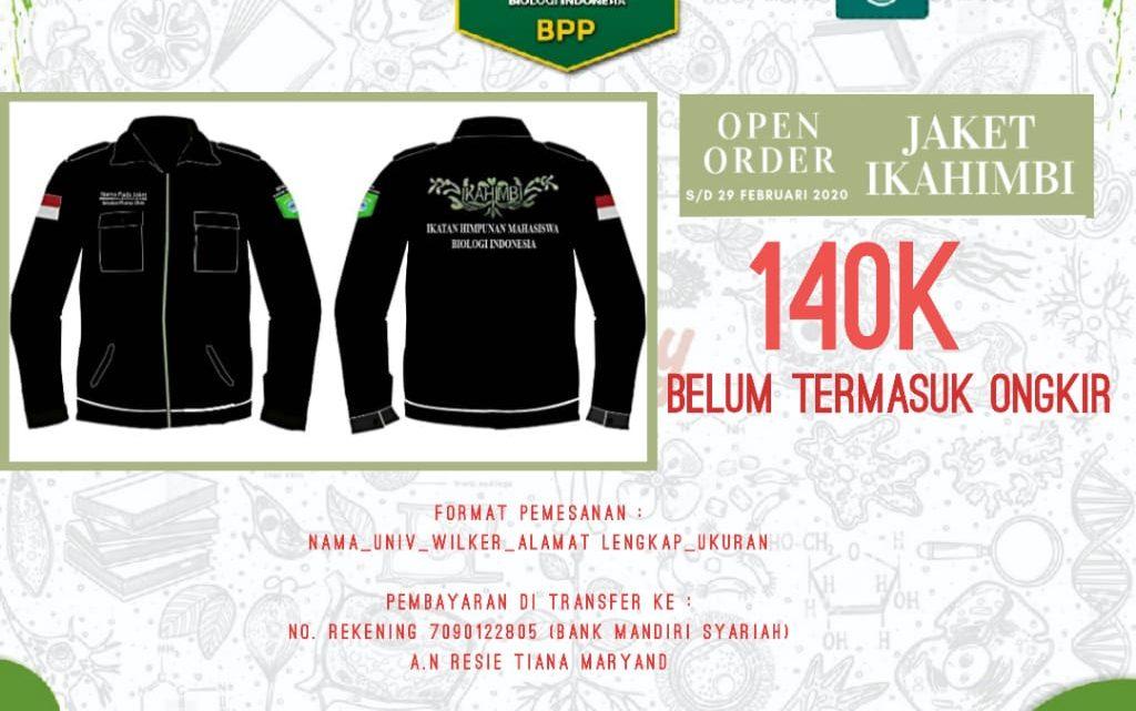 Open Pre Order Jaket IKAHIMBI