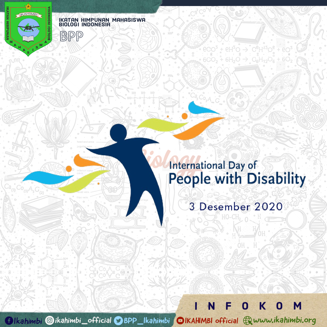 [[INTERNATIONAL DAY OF PEOPLE WITH DISABILITY]]
