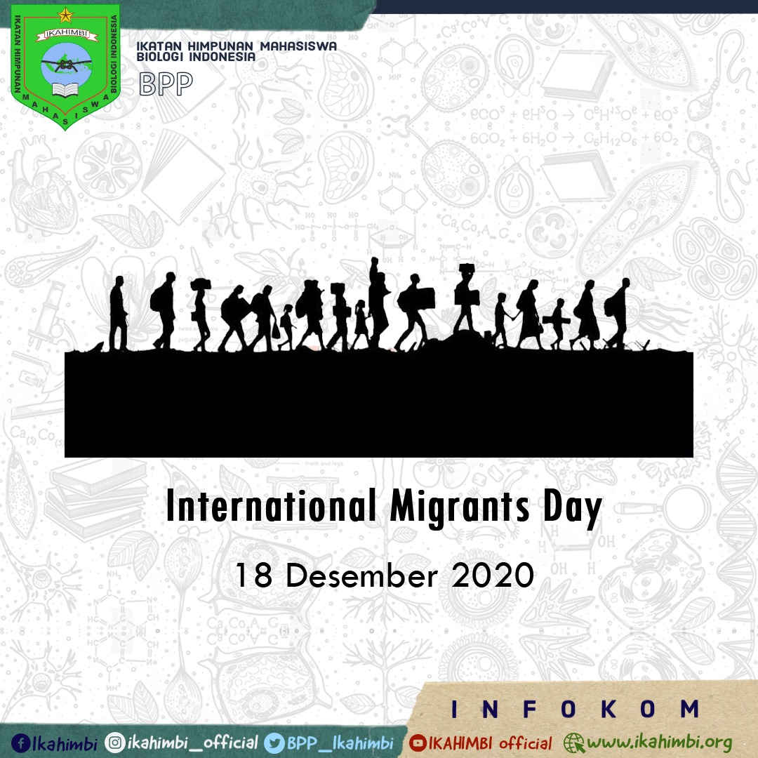 [[INTERNATIONAL MIGRANTS DAY]]